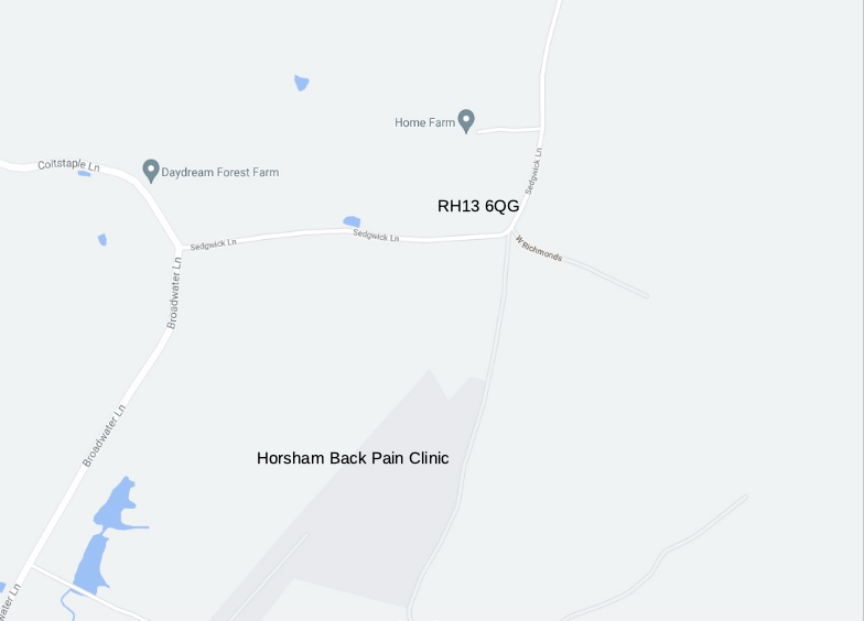 Map to help find clinic